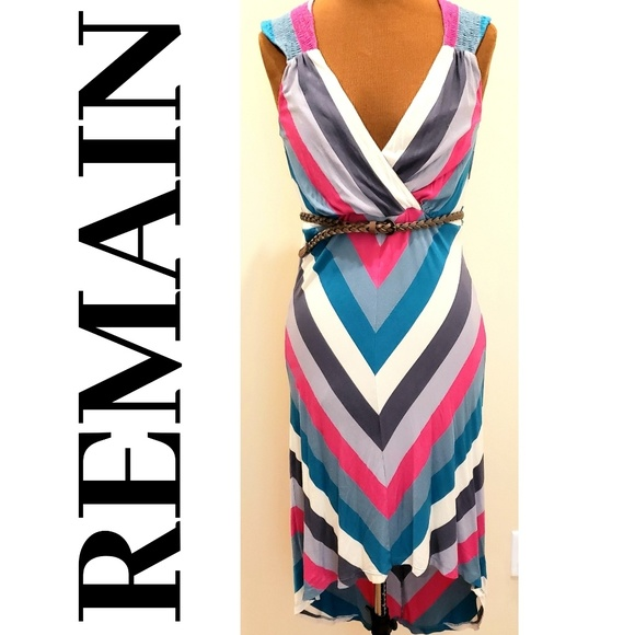 REMAIN Dresses & Skirts - REMAIN High-Low Sleeveless Dress
